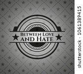 between love and hate retro... | Shutterstock .eps vector #1061389415