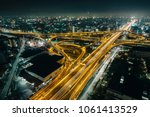 the amazing nightview of... | Shutterstock . vector #1061413529