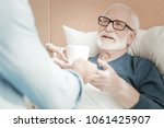 i need this. aged gray haired... | Shutterstock . vector #1061425907