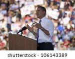 Us Senator Barack Obama...