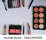 set of decorative cosmetics on...   Shutterstock . vector #1061444309