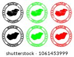 made in hungary   rubber stamp  ...   Shutterstock .eps vector #1061453999