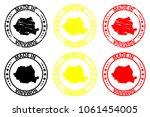 made in romania   rubber stamp  ...   Shutterstock .eps vector #1061454005