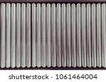 crossing of the roller conveyor.... | Shutterstock . vector #1061464004
