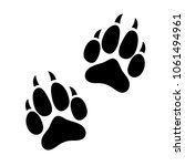 Paw Print Animal Dog Or Cat...