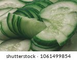 fresh natural juicy thinly... | Shutterstock . vector #1061499854