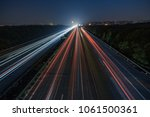 Small photo of High speed car afterimage