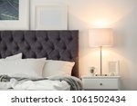 modern room interior with... | Shutterstock . vector #1061502434