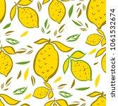 beautiful decorative multicolor ... | Shutterstock .eps vector #1061532674