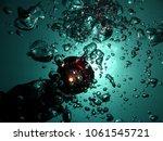 underwater bubble light lamp | Shutterstock . vector #1061545721
