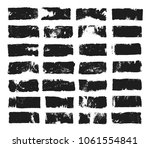 big set of rectangular text box.... | Shutterstock .eps vector #1061554841