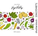 organic food design template....   Shutterstock .eps vector #1061554871