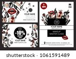 banner  business and discount... | Shutterstock .eps vector #1061591489