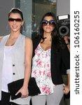 Постер, плакат: Kimberly Kardashian and Koutney