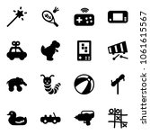 solid vector icon set   magic... | Shutterstock .eps vector #1061615567