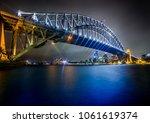 Sydney Harbour Bridge At Night...