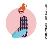 vector illustration of stylish... | Shutterstock .eps vector #1061620601
