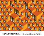 graphic illustration. abstract... | Shutterstock . vector #1061632721