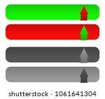 download   upload button set w  ... | Shutterstock .eps vector #1061641304