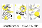 universal trend poster... | Shutterstock .eps vector #1061647604