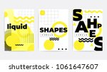 universal trend poster... | Shutterstock .eps vector #1061647607