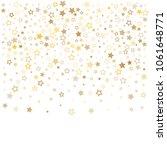 gold stars background frame... | Shutterstock .eps vector #1061648771