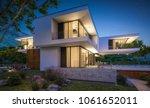 3d rendering of modern cozy... | Shutterstock . vector #1061652011