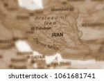 iran  also known as persia ... | Shutterstock . vector #1061681741