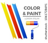 painter symbol   colorful... | Shutterstock .eps vector #1061728691