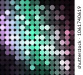 vector background from circles  ... | Shutterstock .eps vector #1061740619