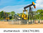 well for oil extraction colombia | Shutterstock . vector #1061741381