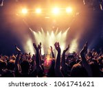 crowd point of view inside a... | Shutterstock . vector #1061741621