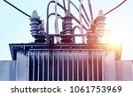 power industry  transformers...   Shutterstock . vector #1061753969