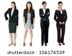 group of asian business women.... | Shutterstock . vector #106176539