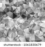 geometric grey background... | Shutterstock .eps vector #1061830679
