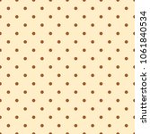 dot spot pattern with vector... | Shutterstock .eps vector #1061840534