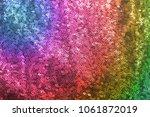 colorful multicolor gradient... | Shutterstock . vector #1061872019