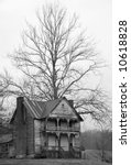 Abandoned Farmhouse - stock photo