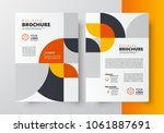 flyer brochure design template... | Shutterstock .eps vector #1061887691