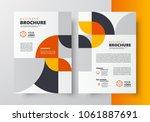 flyer brochure design template... | Shutterstock .eps vector #1061887691