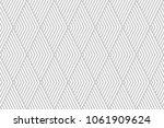 pattern stripe seamless gray... | Shutterstock .eps vector #1061909624