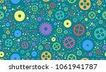 geometrical engineering... | Shutterstock . vector #1061941787