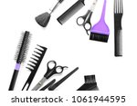 professional hairdresser's...   Shutterstock . vector #1061944595