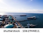 aerial view of energy... | Shutterstock . vector #1061944811