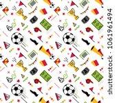 soccer football abstract... | Shutterstock .eps vector #1061961494