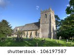 english church with tower at...