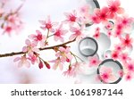 Creative Flowers Circles Background - Fine Art prints