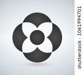 abstract flower shape concept....
