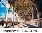 padua  italy   april 2018  town ... | Shutterstock . vector #1062030707