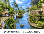 panoramic view of tropical... | Shutterstock . vector #1062035099